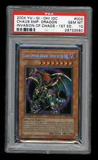 Yugioh CHAOS EMPEROR DRAGON IOC-000 Secret Rare 1st Edition PSA 10 Gem Mint