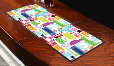 LONDON ICONIC BAR RUNNER IDEAL FOR ANY OCCASION PARTY PUBS CLUBS L&S PRINTS