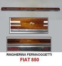 Ringhierina portaoggetti cruscotto- railing retainers dashboard FIAT 850 - 117cm