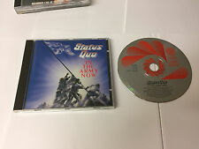 STATUS QUO In The Army Now CD 11 Track (8300492) W GERMAN PRESS Vertigo