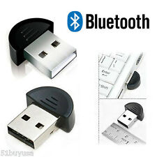 Mini USB 2.0 Bluetooth V2.0 EDR Dongle Adapter for Cellphone Headphone Laptop US