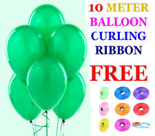 100 LARGE PLAIN BALONS BALLONS helium BALLOONS Quality Birthday Wedding BALOONS