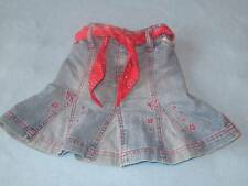 Pumpkin Patch Gorgeous Girls Denim Skirt With Waist Tie/Belt, Size 2