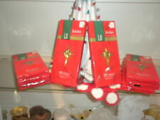 Vintage Christmas 8 Packs of Gold Icicles NIP Made In USA 500 Strands