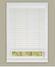 "2"" Faux Wood Plantation Blind 32x64 - EGGSHELL Madera Falsa"