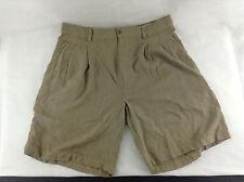Joseph & Feiss Tan Shorts Size 36 Waist 100% Silk