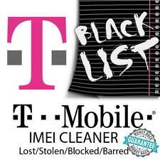 BLACKLISTED T-MOBILE IMEI REMOVAL CLEANING SERVICE BLACKLIST BLOCKED LOST STOLEN