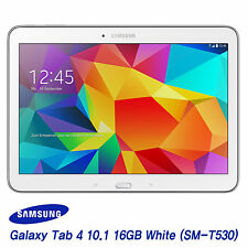 [Samsung] Galaxy Tab 4 10.1 SM-T530 16GB, Wi-Fi Tablet PC Pad (White) - FedEx