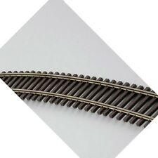 "Atlas 500 Code 83 Super-Flex Brown 36"" Straight Train Track HO (10)"