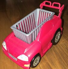 Mattel Barbie Happy Family Grocery Store Car Cart for Toddler Nikki Dolls Red
