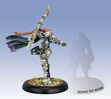 Warmachine Mercenaries Fiona the Black Warcaster PIP41110 Used / Out of Package