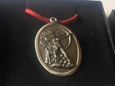 "Diana Goddess code dr88  Made From English Pewter On a 18"" Red Cord Necklace"