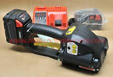 "*NEW* FROMM P-329 3/4"" full kit 18V battery strapping tool orgapack signode"