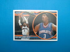 2010-11 Panini NBA Sticker Collection n.123 Gerald Wallace Charlotte Bobcats