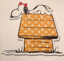 Snoopy Dog House print by DEATH NYC Ltd Ed Art Peanuts like KAWS Obey Brainwash