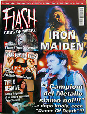 FLASH 174 2003 Iron Maiden Metallica Secret Sphere Bob Catley MOD Queensrÿche