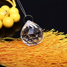1PC Clear Chandelier Crystal Ball Lamp Prisms Parts Suncatcher Pendants 40mm