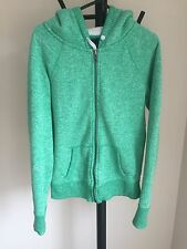 American Eagle Outfiters Women Jacket Hoodie Green Size S (05)