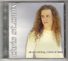 (GL834) Chris St Croix, All Or Nothing ... More Or Less - 2002 CD
