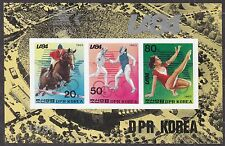 KOREA Pn. 1983 MNH** SC#2340 Sheet, Olympic Games, Los Angeles 1984. Imp.
