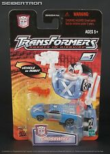 CROSSWISE Transformers Robots In Disguise RID Spy Changers Hasbro 2001 New