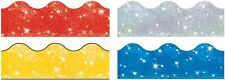 Terrific Trimmers Classroom Notice Board Display Borders - Sparkle Variety