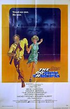 DOMINO PRINCIPLE 1977 Gene Hackman, Richard Widmark, Candice Bergen US 1-SHEET