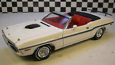 1:18 Greenlight 1970 Dodge Challenger Convertible white