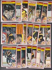 1982 - 83 OPC Team SET Lot of 22 Vancouver CANUCKS NM+ o-pee-chee Tiger SMYL