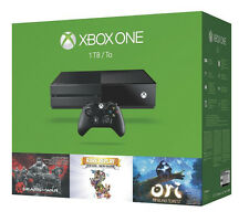 Microsoft Xbox One 500GB Black Console.nice!With new power cords.