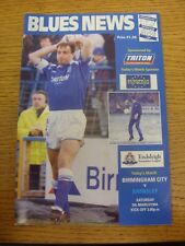 05/03/1994 Birmingham City v Barnsley  (Faint Crease). Trusted sellers on ebay b