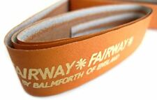 "Fairway Double Handed Leather Grip (Tan) 50"" x 15/16"