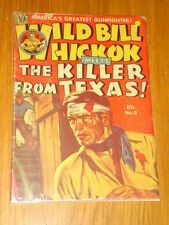 WILD BILL HICKOK #9 G/VG (3.0) AVON COMICS PAINTED COVER NOVEMBER 1951