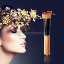 New Pro Synthetic Angled Flat Top Buffer Brush Face Liquid Foundation Cosmetic