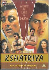 KSHATRIYA (DHARMENDRA,VINOD KHANNA)  - NEW ORIGINAL BOLLYWOOD DVD – FREE UK POST