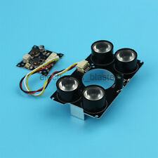Infrared IR 4pcs 60 degree LED Board for CS M12 Mount Fixed Camera  Lens