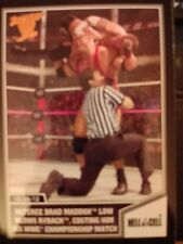 2013 Topps Best of WWE #56 Referee Brad Maddox Low Blows Ryback Bronze Parallel
