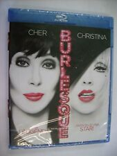 BURLESQUE - BLU RAY NEW SEALED - CHRISTINA AGUILERA - CHER
