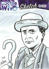 Dr Doctor Who Trilogy Sketch Card by Nick Neocleous /1