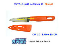 COLTELLO  PESCA  SURECATCH   COLORE ORANGE