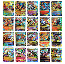 Pokémon TCG 100 Card Lot Rare Common Unc Full Art GX Guaranteed EX AND Holo Rare