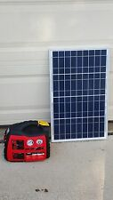 Plug n Play portable solar power kit solar generator With new 25ft wire