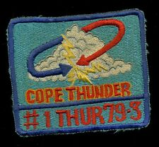 USAF 3rd Tactical Fighter Wing Cope Thunder Clark  Patch S-24