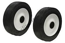 2 piezas 170mm 17.8cm pulgadas rueda cortacésped recambio reemplazo goma rueda