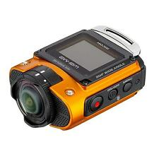 Ricoh WG-M2 Heavy-duty Wi-Fi Action Camera 4K Waterproof & Shockproof - Orange