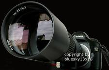 SUPER Tele 500 1000 mm per NIKON d40 d60 d90 d5000 d80 d5200 d5100 d3100 d3000