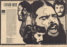 CANNED HEAT - PHOTO'S + ARTICLES  FROM DUTCH MAGAZINES 1971- 1972