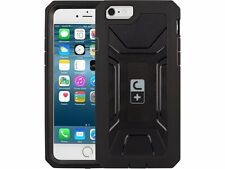 For iPhone 6 / 6S - Black Rugged Tough Armor Military Case with Built-in Screen