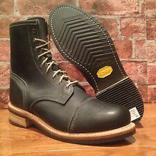 $495 TIMBERLAND BOOT COMPANY® SMUGGLER'S NOTCH 8-INCH CAP TOE BOOTS. SIZE:10