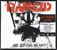 RANCID - AND OUT COME THE WOLVES-DELUXE BOX INKL.T-SHIRT,2 BUTT  CD NEU